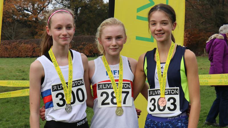 Livingston Open Cross Country Series - Results